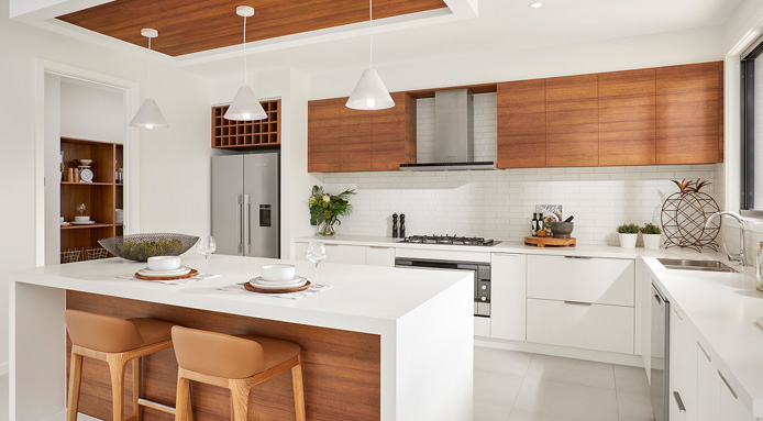 Spinifex display home kitchen