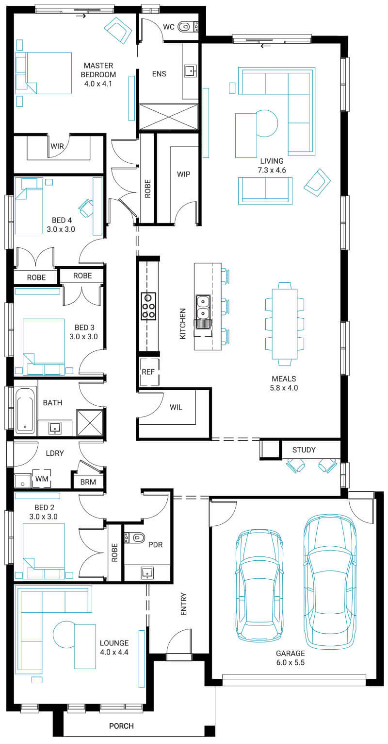New Home Designs Melbourne Beachwood Homes